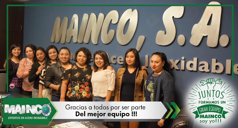 imagen 7 galeria Juntos formamos un gran equipo MAINCO soy yo !!!
