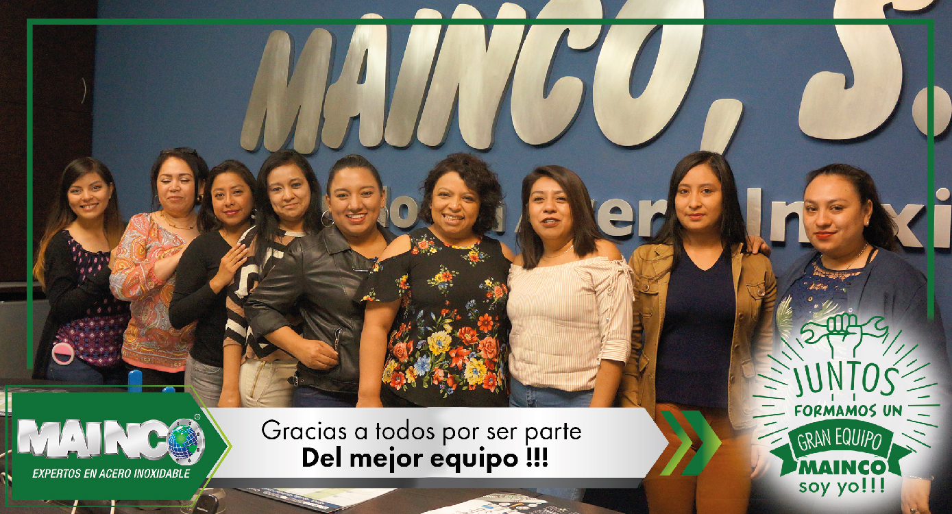 imagen 8 galeria Juntos formamos un gran equipo MAINCO soy yo !!!