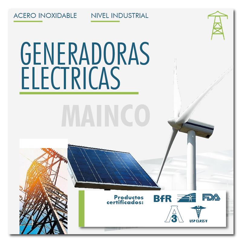 Generadoras eléctricas