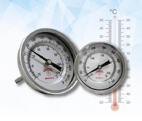 termometro, bimetalico, acero, inox, inoxidable, mainco, guatemala, temperatura, hornos, temperatura