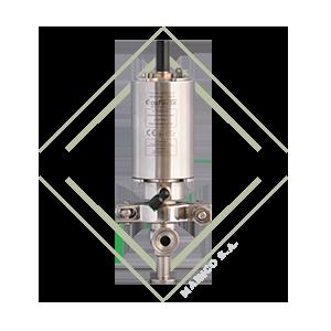 valvula dcx3, l, valvula diversora, valvula acero inox, valvula acero inoxidable, valvula para alimentos, funcionamiento