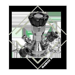 valvula toma muestras, valvula muestreo, valvula sacamuestras, valvula para control de calidad, valvula acero inox, valvula acero inoxidable