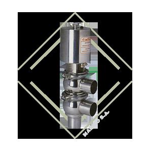 valvula dcx4, ll, valvula diversora, valvula acero inox, valvula acero inoxidable, valvula para alimentos, funcionamiento